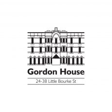 Gordon-house-logo design